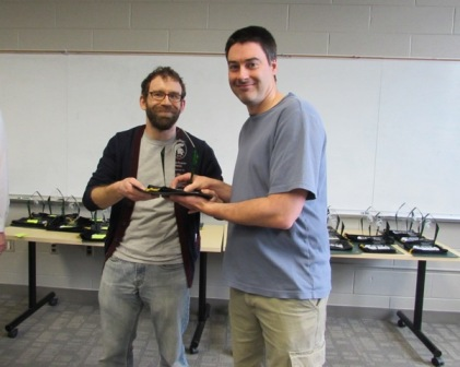 image Graduate Student Eric Bruger, Chris Waters Lab