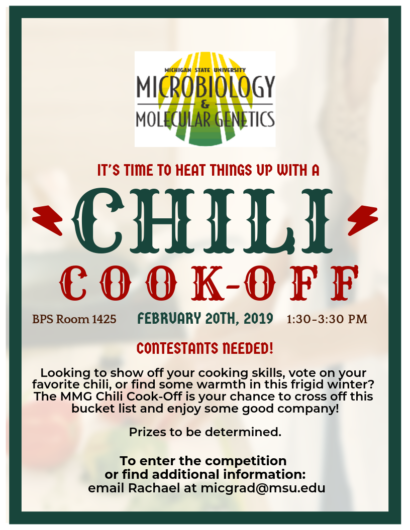MMG Chili Cook-Off